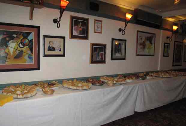 Buffet served in Cafe Jazz